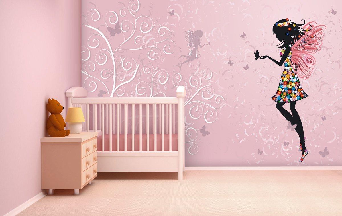 Fototapete Butterfly Fairy in verschiedenen Größen  als Papiertapete oder Vliestapete wählbar  PVC frei, geruchloser, umweltfreundlicher Latexdruck ohne Lösemittel  Motivtapete Postertapete Bildtapete Wall Mural von Trendwände  BaumarktÜberprüfung und weitere Informationen