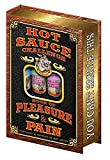 Ass Kickin Hot Sauce Challenge Book of Pleasure & Pain 12 Pack Gift Set Assorted