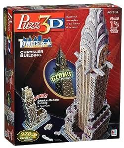 Amazon Com Puzzle 3d Chrysler Building Toys Amp Games