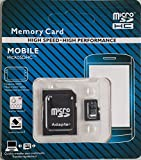 64 Gb Micro SD Card Class 10 & Adapter in Retail Packaging