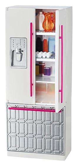 Barbie - Grand Meubles - My Style Maison Réfrigérateur - CFG70 - Mattel