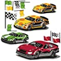 Wallies 15202 Raceway Wallpaper Mural, 2-Sheet