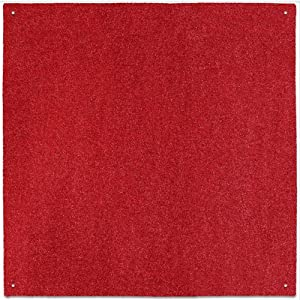 Amazon Outdoor Turf Rug Red 12 x 12 Several