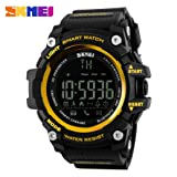 Aobiny Sport Bluetooth Smart Watch Phone Mate for Smartphone (Gold)