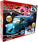 Disney / Pixar CARS TOON Playset Tokyo Mater Track Set Includes Plastic Tokyo Mater