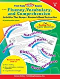 img - for Fluency, Vocabulary, and Comprehension, Grade K: Activities That Support Research-Based Instruction (First-Rate Reading Basics) book / textbook / text book