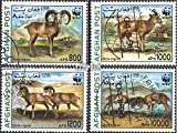 Afghanistan 1819-1822 (complete.issue.) fine used / cancelled 1998 WWF: steppe sheep (Stamps for collectors)