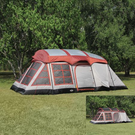Big Horn 3-Room Family Cabin Tent