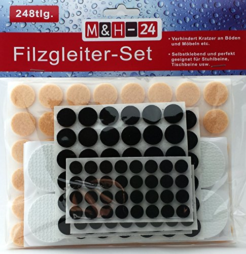248-Filzgleiter-selbstklebend-Mbelgleiter-Filz-Stuhlgleiter-Bodengleiter-Bodenschutz-Kratzschutz-rund