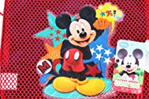 Hot Sale Wholesale Lot 12 Pieces Disney MICKEY MOUSE CLUB HOUSE Sling Bags Tote Net Front Birthday Party Favors - SOLD IN 12 PIECES