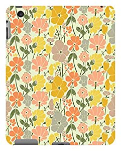 Koveru Back Cover Case for Apple iPd-4 - Yellow flower Abstract