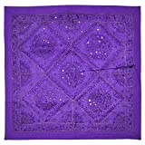 Decorative Wall Hanging Cotton Tapestry 32 X 32 Inches