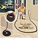 DAP 9298 XHose Pro The Incredible Xpanding Hose with Solid Brass Fittings, 100-Feet