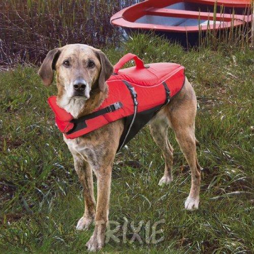 Artikelbild: Trixie 30141 Schwimmweste für Hunde, XS: 26 cm/max. 12 kg, rot / schwarz