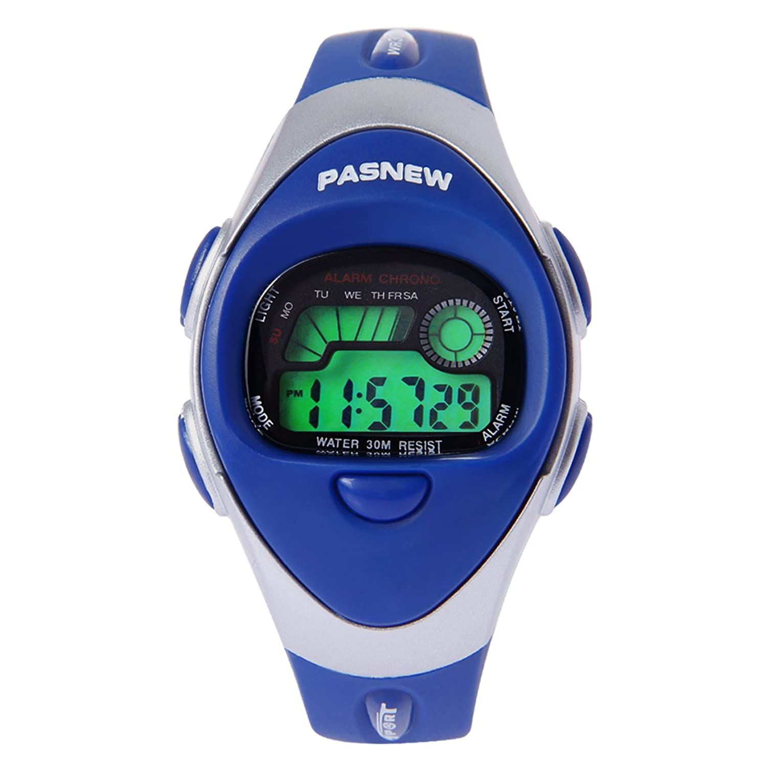 Hiwatch Waterproof Digital Sports Watch Kids Watches For Boys Girls Blue