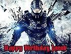 Halo 4 Image Photo Cake Topper Sheet Personalized Custom Customized Birthday Party - 1/4 Sheet - 76765