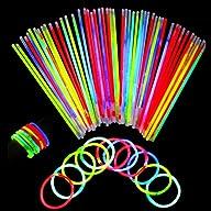 Neon Light Up Glow Sticks Bright Glo…