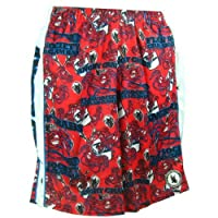 Lacrosse Lax Mesh Shorts Angry Crab Red Adult (medium)