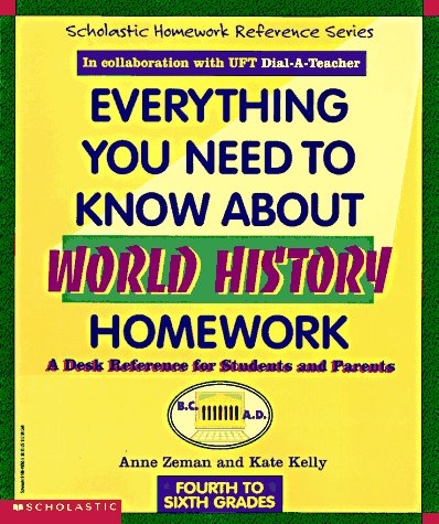 Image for Everything You Need To Know About World History Homework (Evertything You Need To Know..)
