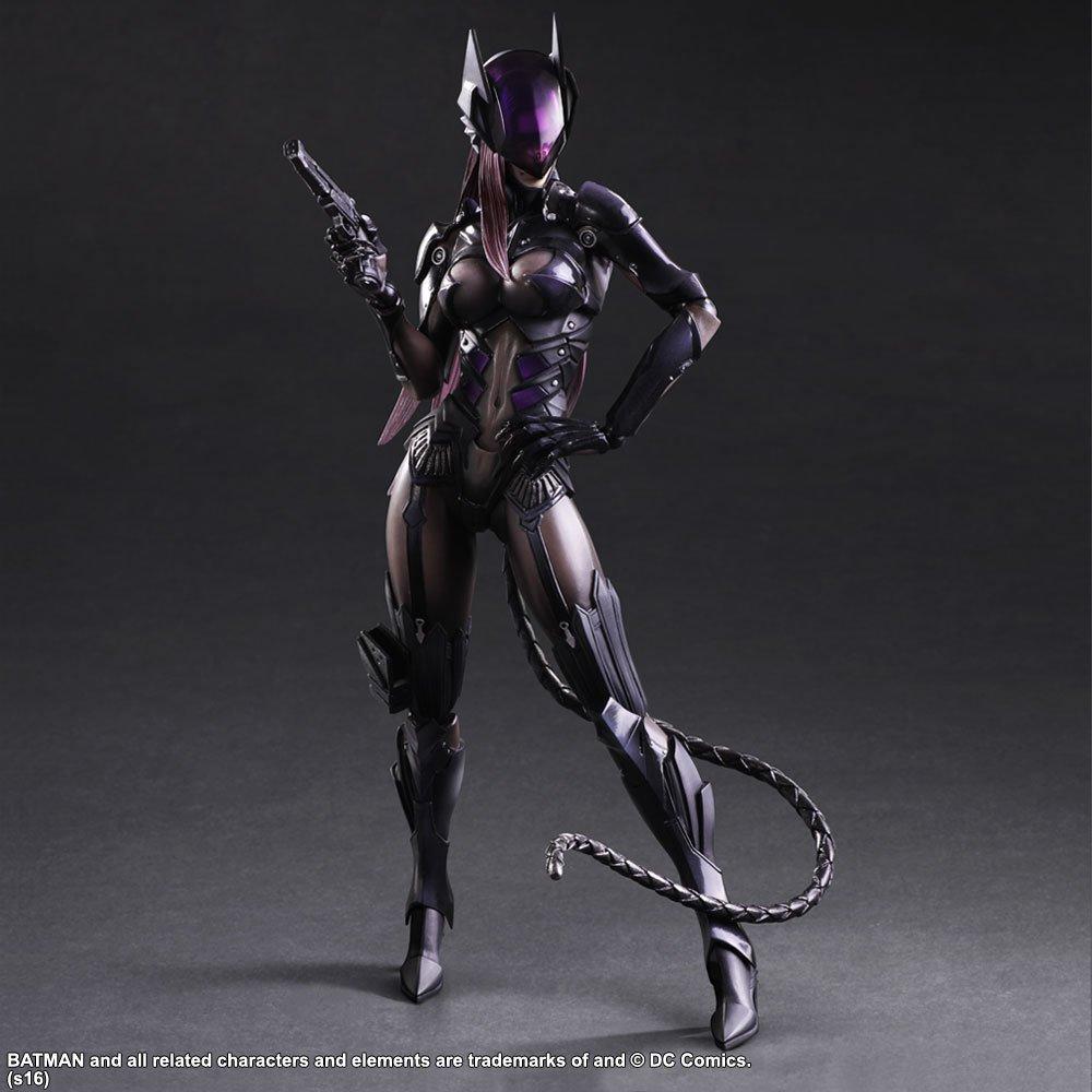 SK-SquareEnix DC COMICS Catwoman Tetsuya Nomura set version Handmodell günstig