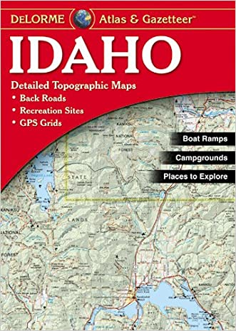 Delorme Idaho Atlas & Gazetteer