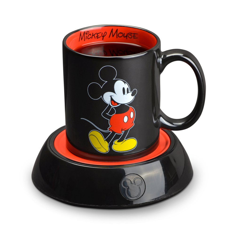 Mickey Mouse Electric Coffee Cup Warmer Plate Gift for People Who Love Disney