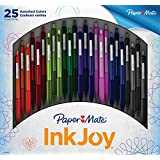 Paper Mate InkJoy 300RT Retractable Ballpoint Pen, Medium Point, 25-Pack, Assorted Colors (1919654)