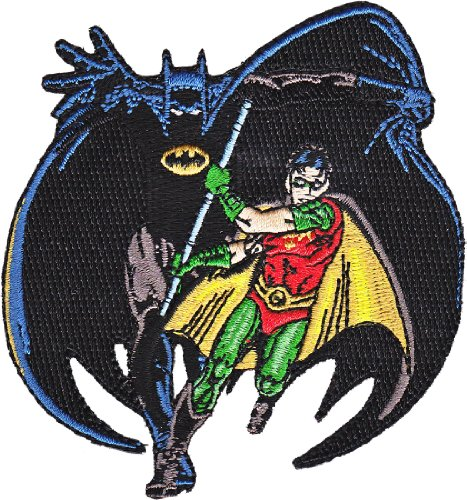 Application DC Comics Batman And Robin Patch