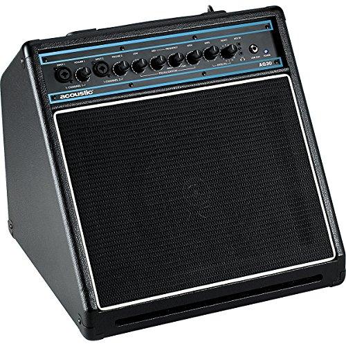 Acoustic Ag30 30W 1X8 Acoustic Guitar Combo Amp Black