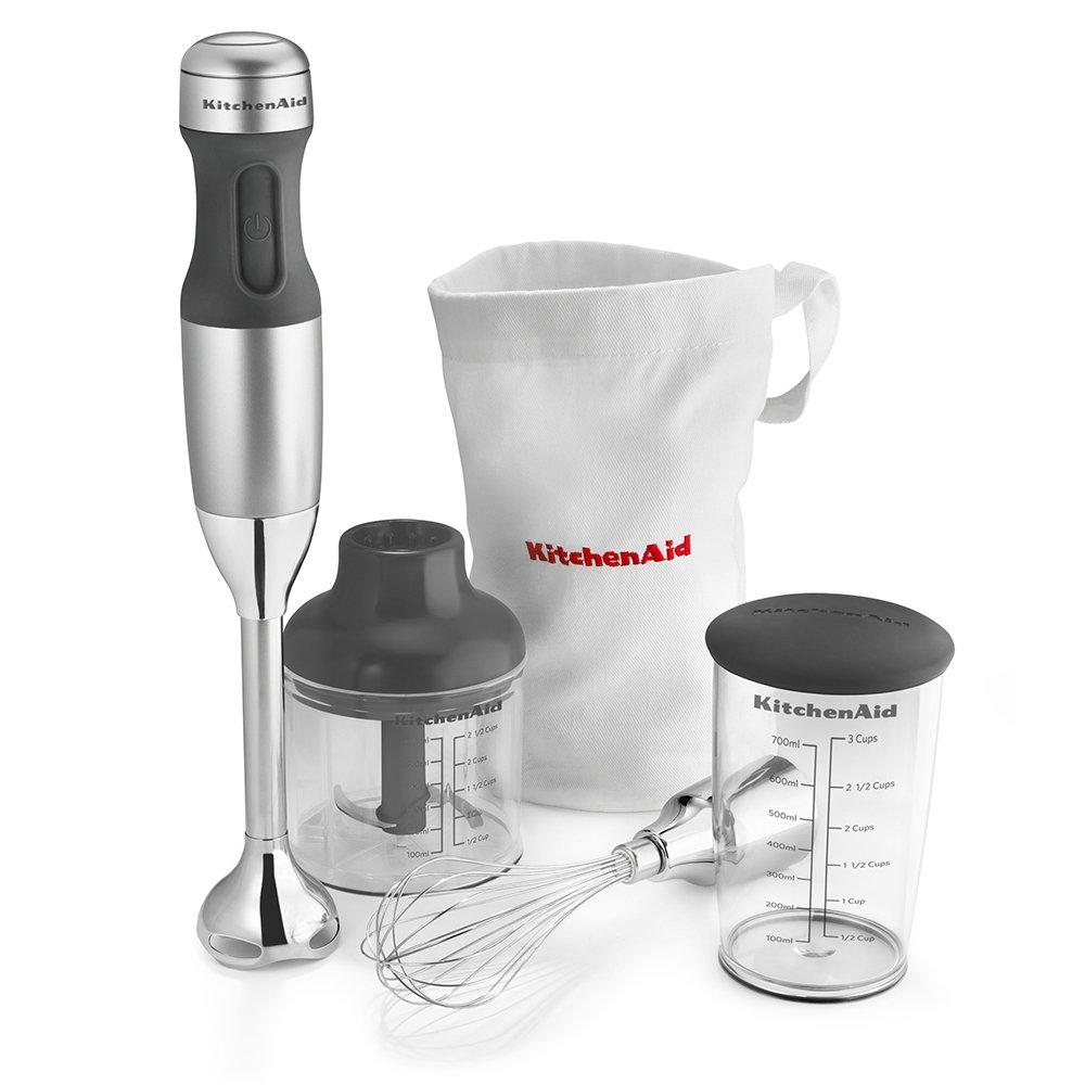 KitchenAid KHB2351CU 3-Speed Hand Blender - Contour Silver