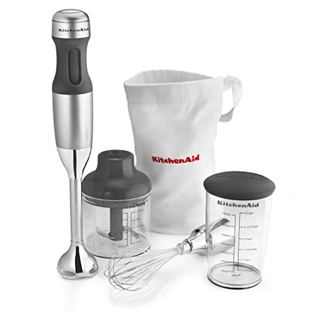 KitchenAid KHB2351CU 3-Speed Hand Blender - Contour Silver