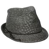 San Diego Hat Women's Black Tweed Fedora