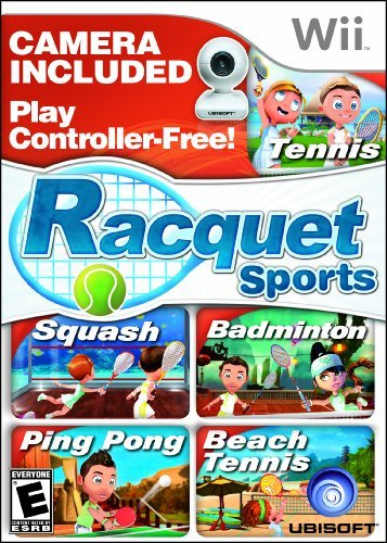 Racquet Sports with Camera