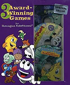 Humongous Entertainment 3 game package - Features Putt-Putt, Freddi Fish, and Pajama Sam