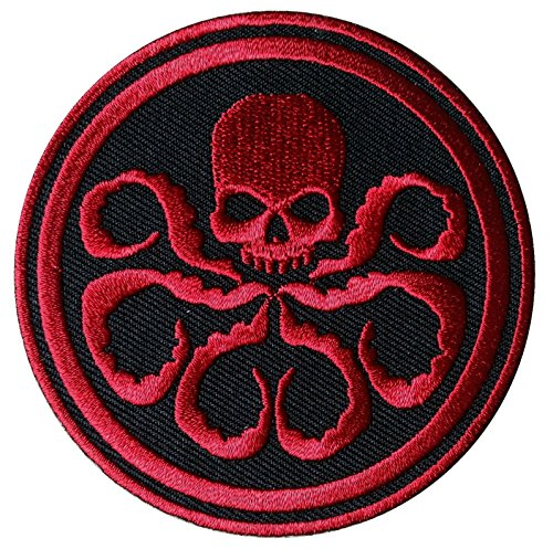 Buy Captain America HYDRA/Red Skull RED Embroidered Movie Patch