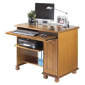 Simmob METZ821CR scrivania, in legno di quercia rustica 65,10 x 100 x 81,60 cm