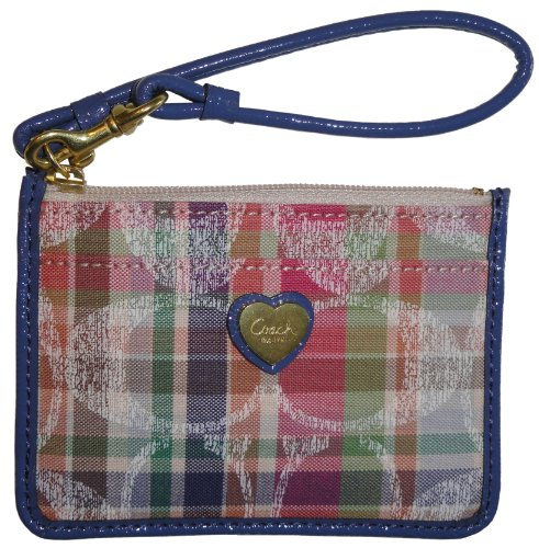 Coach   Coach Daisy Madras Id Skinny Multi Color 48768