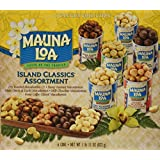 Mauna Loa Macadamia Nuts Assorted Flavors, 4.5-Ounce Canisters (Pack of 6)