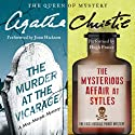 'Murder at the Vicarage' & 'The Mysterious Affair at Styles' (       UNABRIDGED) by Agatha Christie Narrated by Joan Hickson, Hugh Fraser