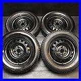 【中古スタッドレスタイヤ】【送料無料】4本セット ブリヂストン アイスパートナー 175/65R15  / トヨタ純正   15x5.0  100-4穴  フィット・アクアに! 中古タイヤ W15161116046