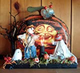 Halloween Decorations - Haunted Halloween Pumpkin Patch By Christopher James - Made in America