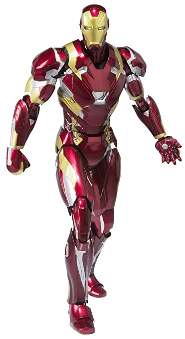 Captain America: Civil War - Iron Man Mark 46 [SH Figuarts] [import Japonais]