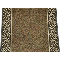 Dean Custom Length Washable Carpet Rug Runner - Garden Path Green - Sold by the Linear Foot