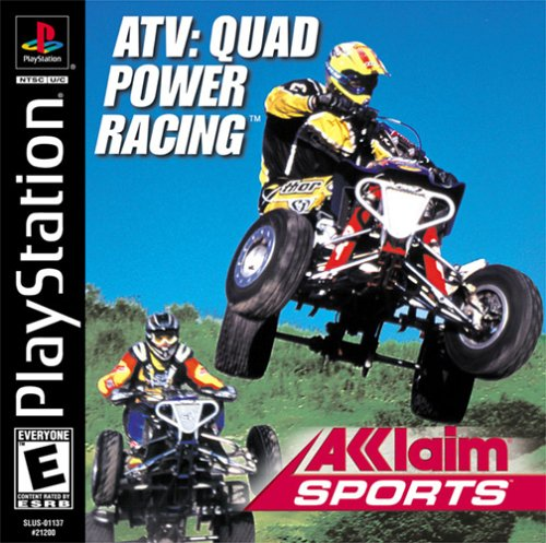 Atv Quad Power Racing (Ps1) front-314670