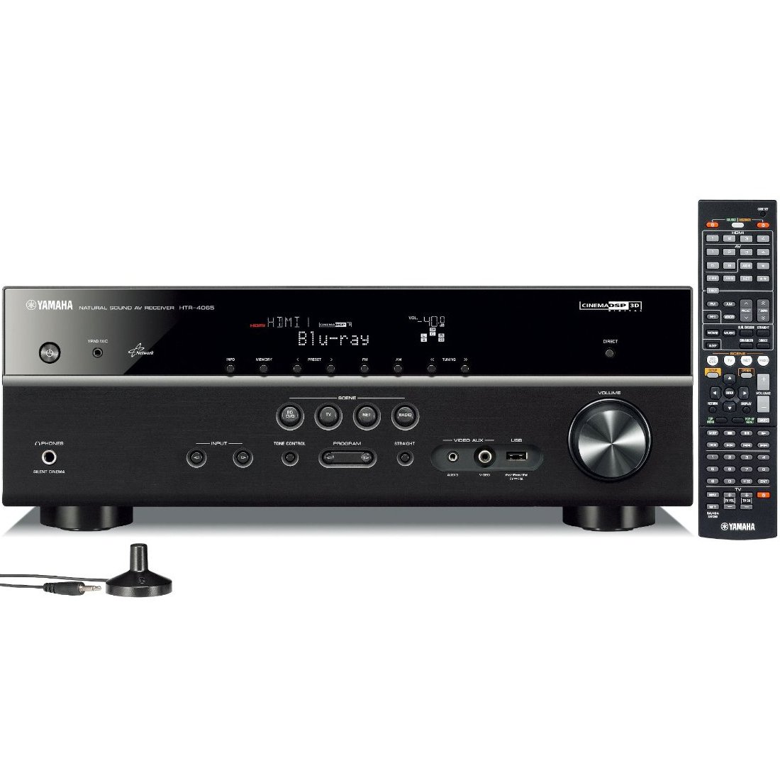 Yamaha HTR-4065 Factory Refurbished 5.1-Channel Network AV Receiver with Airplay $199.95