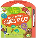 Peaceable Kingdom Really Ridiculous Super Silly Write and Wipe Games To Go! Activity Book