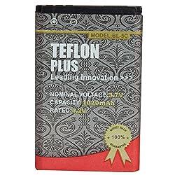 Teflon Plus 1020 Mah Lithium Ion Battery for Nokia BL 5c 1100 1101 1110 1112 1200 1208
