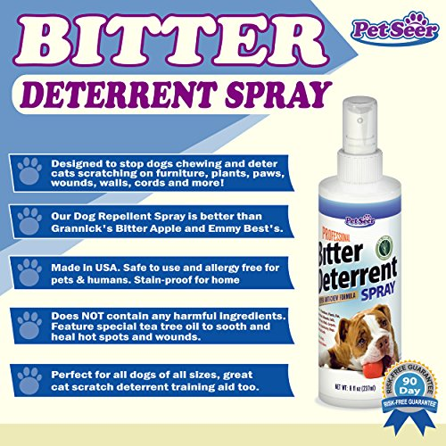 Bitter Deterrent Spray For Dogs Amp Cat Pro Anti Chew