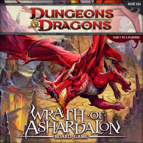Dungeons & Dragons: Wrath Of Ashardalon Board Game front-653132
