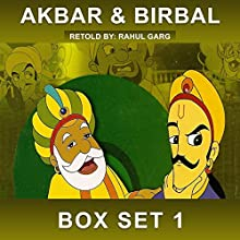 Akbar and Birbal Box Set, Volume 1 Audiobook by Rahul Garg Narrated by  Vikas, Claire Heffron